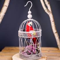 Decorative parrot red 44cm