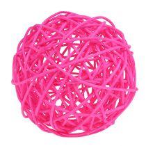 Dekoball Pink 10cm 6pcs