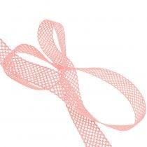 Deco ribbon lace 21mm 20m pink