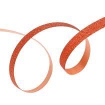 Decorative ribbon with mica copper 5mm 150m