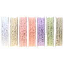 Decorative ribbon crochet lace 12mm 20m