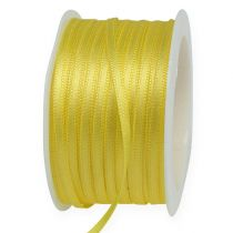 Gift ribbon yellow 3mm x 50m