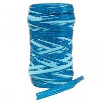 Decorative bast two-tone blue 200m