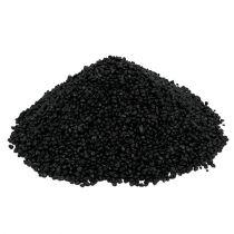 Decorative granulate black 2mm - 3mm 2kg