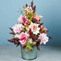 Artificial flower dahlia lilac 63cm