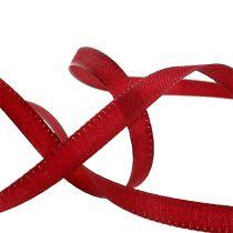 Decorative ribbon Bordeaux 8mm 50m