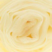 Decorative fabric organza cream 150cm x 300cm