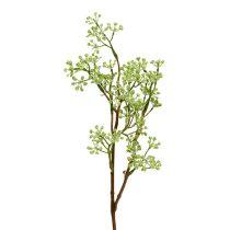 Decorative branch green L43cm 4pcs