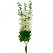 Delphinium white artificial delphinium silk flowers artificial flowers 3pcs