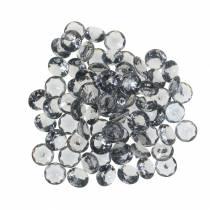 Decorative stones diamond acrylic gray Ø1.2cm 175g jewelry decoration