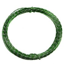Diamond aluminum wire apple green 2mm 10m