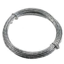 Diamond aluminum wire silver 2mm 10m