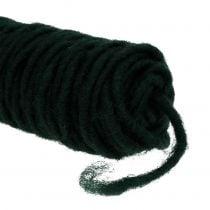 Wick thread felt thread dark green 55m