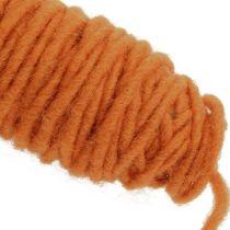 Wick thread 55m orange