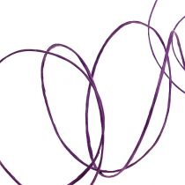 Wire wrapped 50m purple