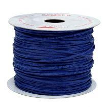 Wire wrapped around 50m dark blue