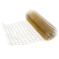Wire mesh gold 35cm 5m
