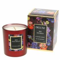 Scented candle in a glass Iris Patchouli Ø7cm H8cm