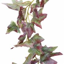Ivy garland green, burgundy 182.5cm
