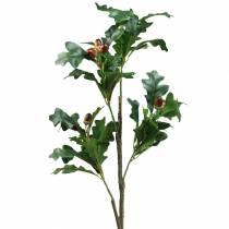 Oak leaf branch with acorns artificially 90cm