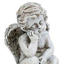 Angel sitting gray 11cm 4pcs