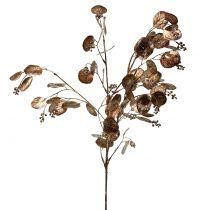 Artificial eucalyptus branch copper 76cm