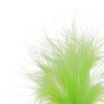 Spring to plug L30cm light green 12pcs