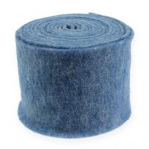 Felt ribbon blue 15cm 5m