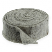 Felt tape gray 7.5cm 5m