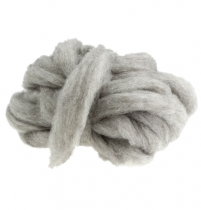 Wool rivet 10m gray