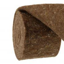 Felt tape, pot tape brown 15cm 5m