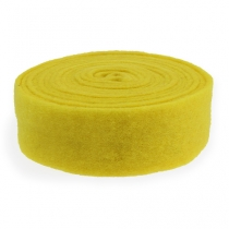 Felt tape yellow 7.5cm 5m