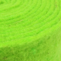 Felt ribbon green 7.5cm 5m