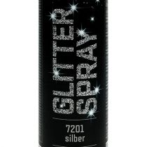 Glitter spray silver 400ml