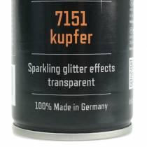 Glitter spray copper 400ml