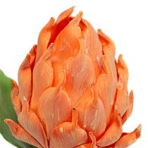 Foam artichoke orange 14cm L28cm 1p