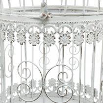 Spring decoration, bird cage to hang, metal decoration, vintage, wedding decoration 28.5cm