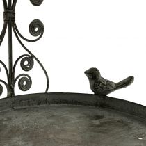 Bird feeder to hang in vintage style H35cm