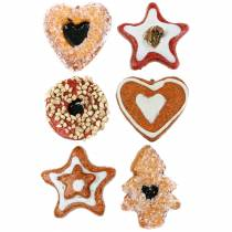 Artificial pastry assortment 24pcs