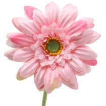 Gerbera pink artificial 47cm 12pcs