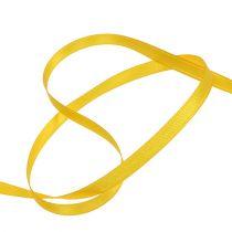 Gift ribbon yellow 6mm x 50m