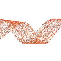 Gift ribbon in orange 3cm 10m