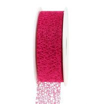 Gift ribbon in pink 3cm, 10m