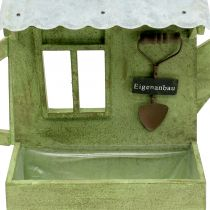Plant box garden shed green H40cm