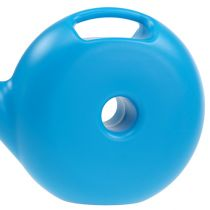 Watering can donut small blue