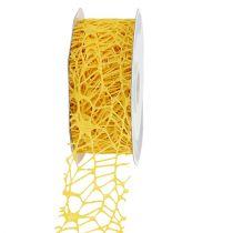 Grid tape yellow 40mm 10m