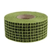Grid tape 4.5cm x 10m moss green