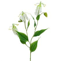 Gloriosa white artificial 84cm 3pcs