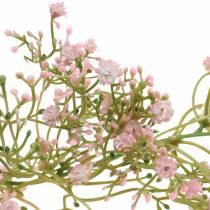 Garland gypsophila pink 180cm