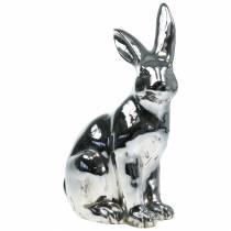 Bunny silver antique H42cm